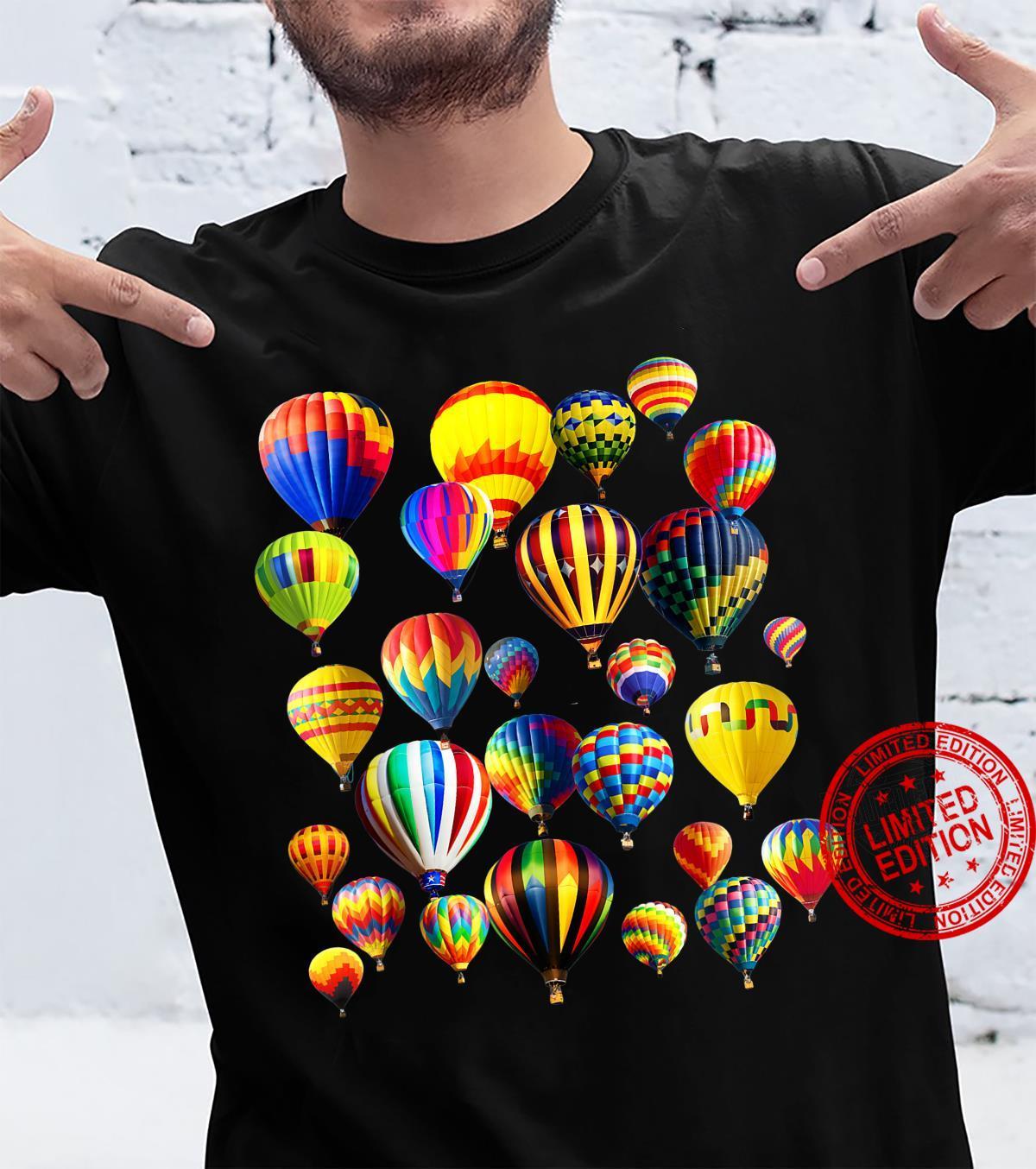 TShirt with Cute Hot Air Balloon Design Shirt