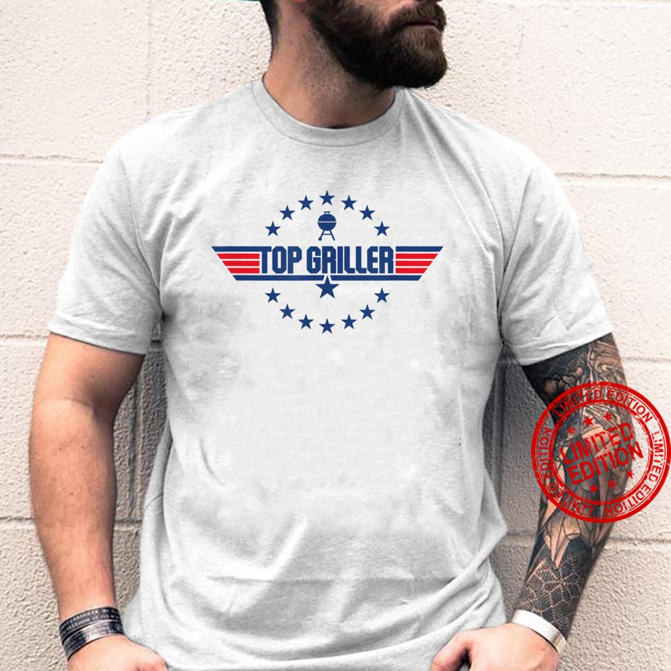 Top Griller grilling and BBQ joke and Shirt