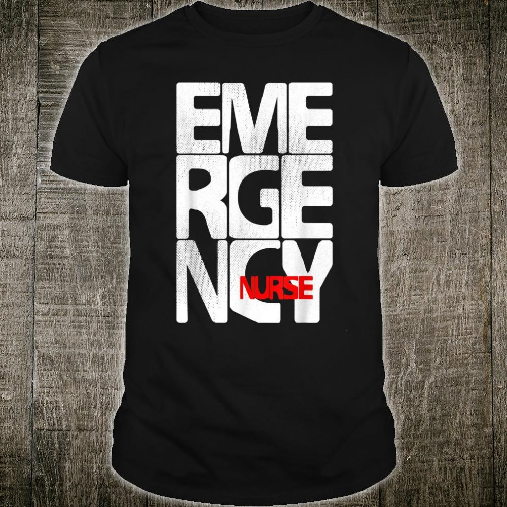Care Giver RN Emergency Nurse Graduation ED Techs Department Shirt