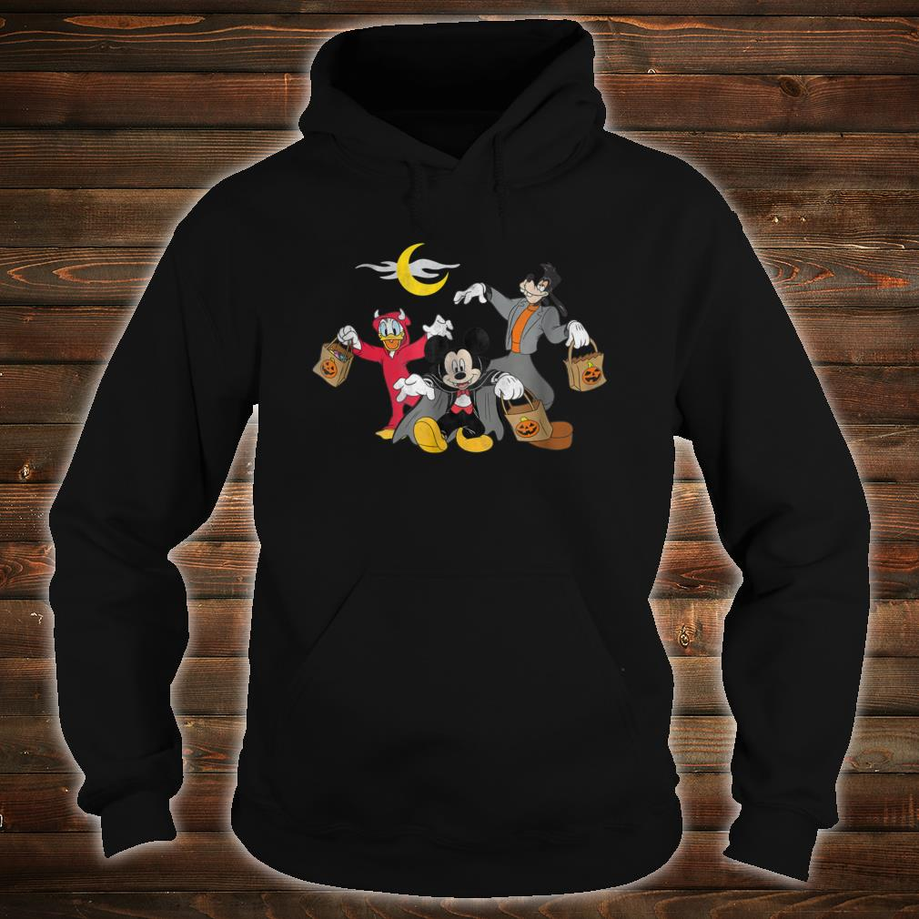 Disney Mickey goofy Donald Halloween Squad Shirt hoodie