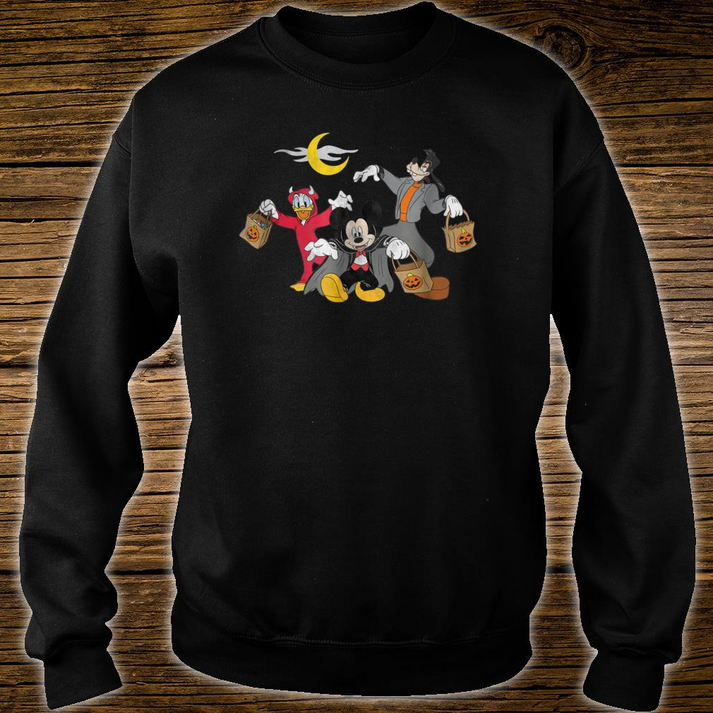Disney Mickey goofy Donald Halloween Squad Shirt sweater