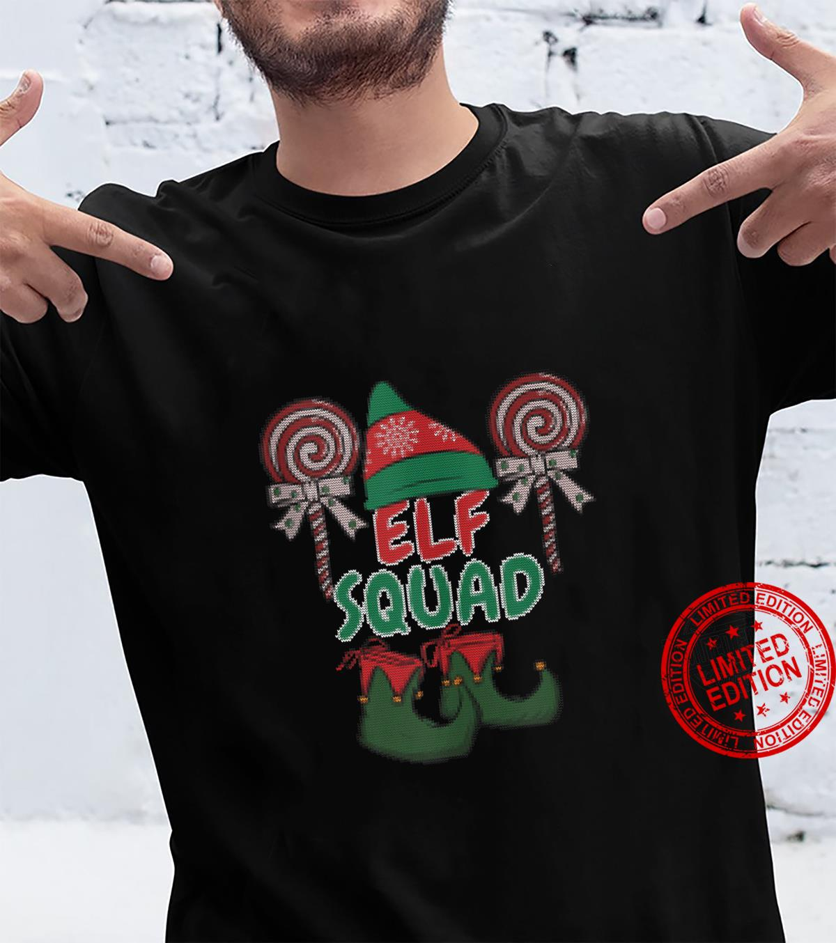 Elf Squad's Shirt