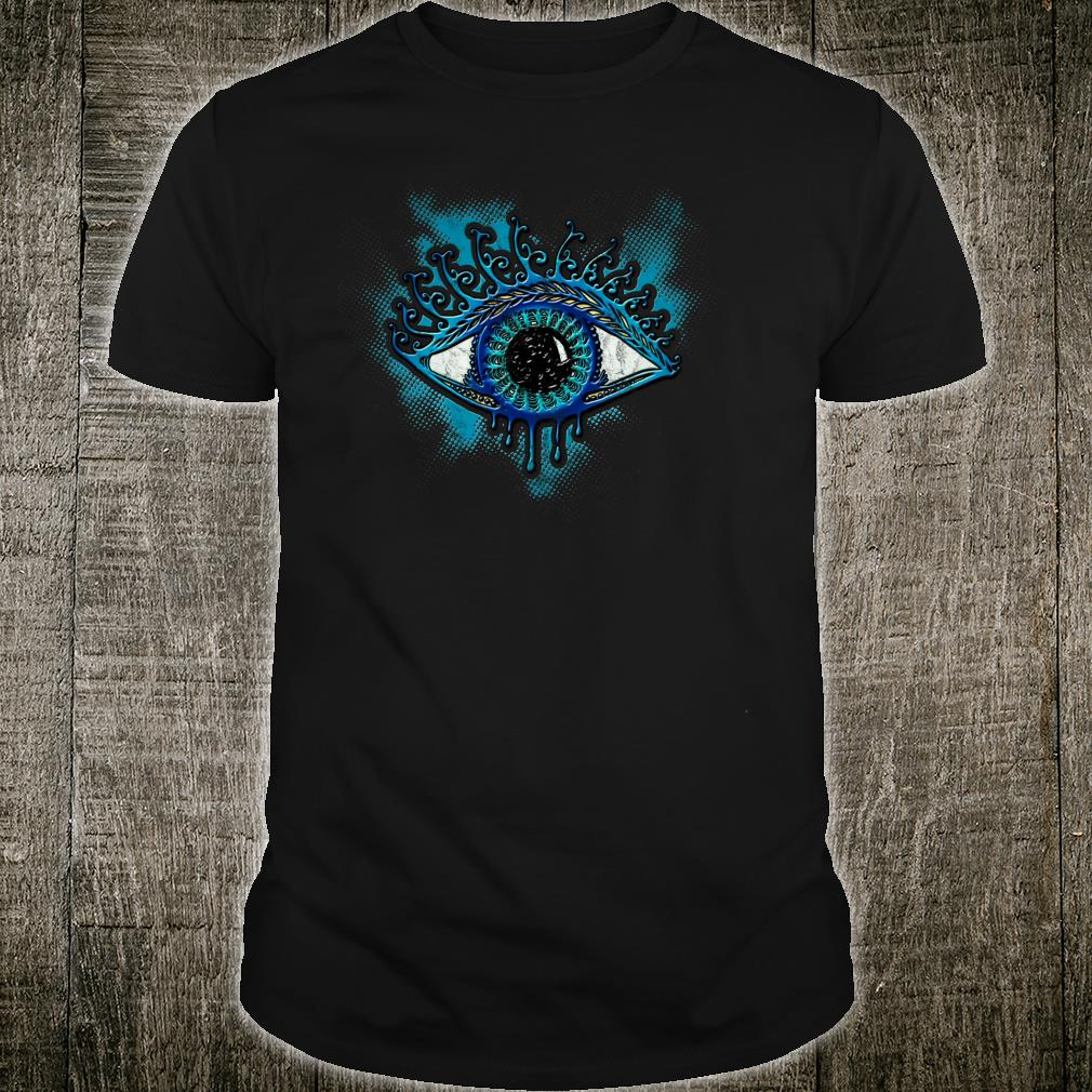 Eye Protection Symbol Magic Wisdom Light Amulet Horus Yoga Shirt