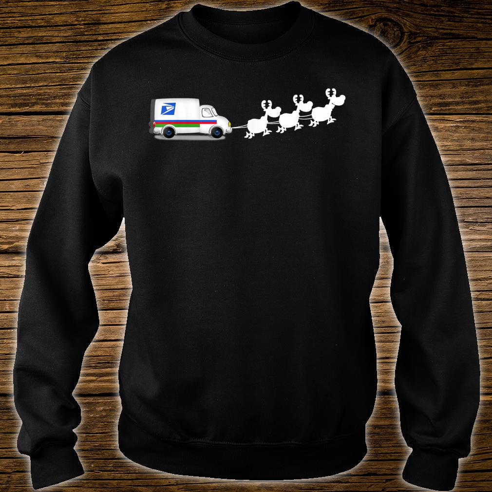 Official Funny Christmas Mailman Postal Worker Mail Carrier Shirt