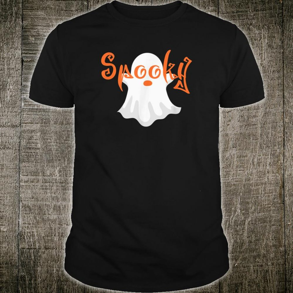 Halloween SPOOKY Ghost Eyes Shirt