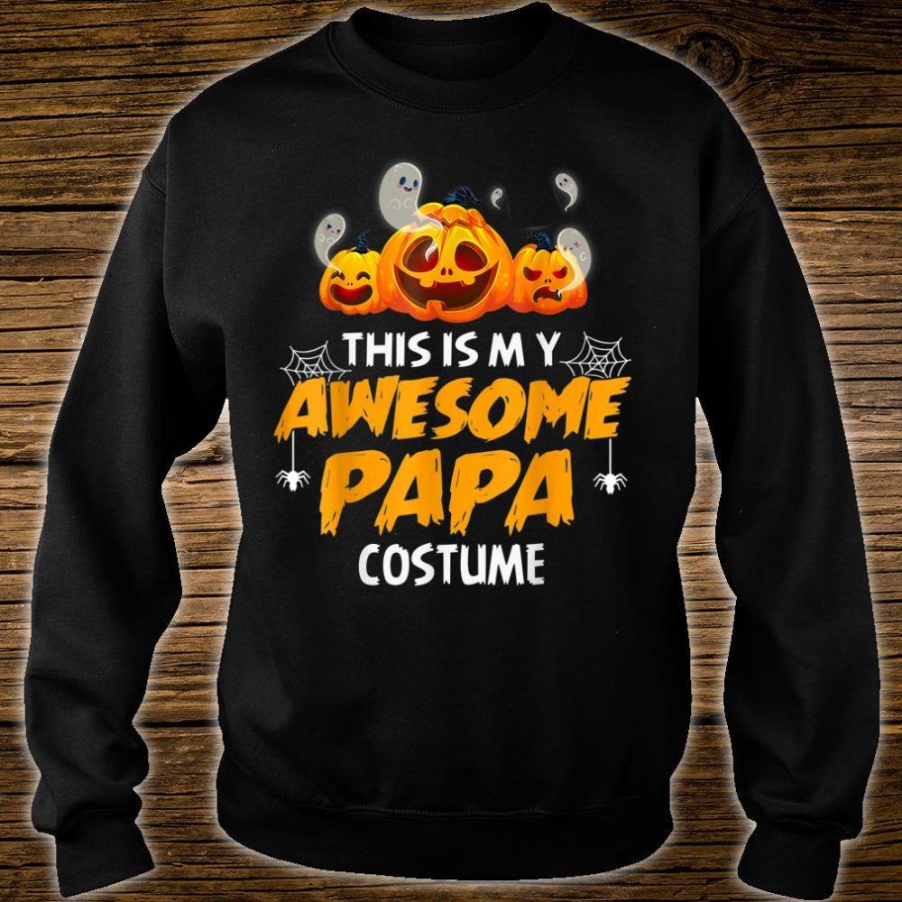 Halloween This Is My Awesome Papa Shirt sweater