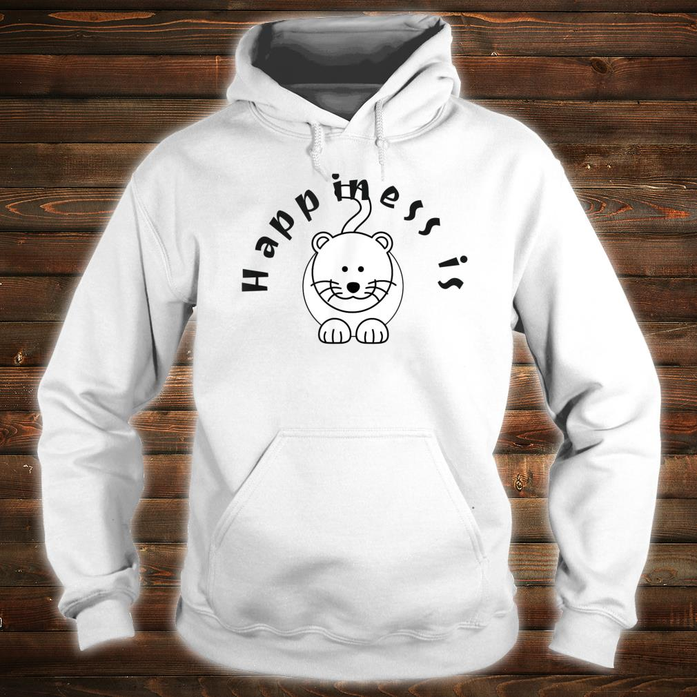 Happiness is a Cat Pet Shirt hoodie