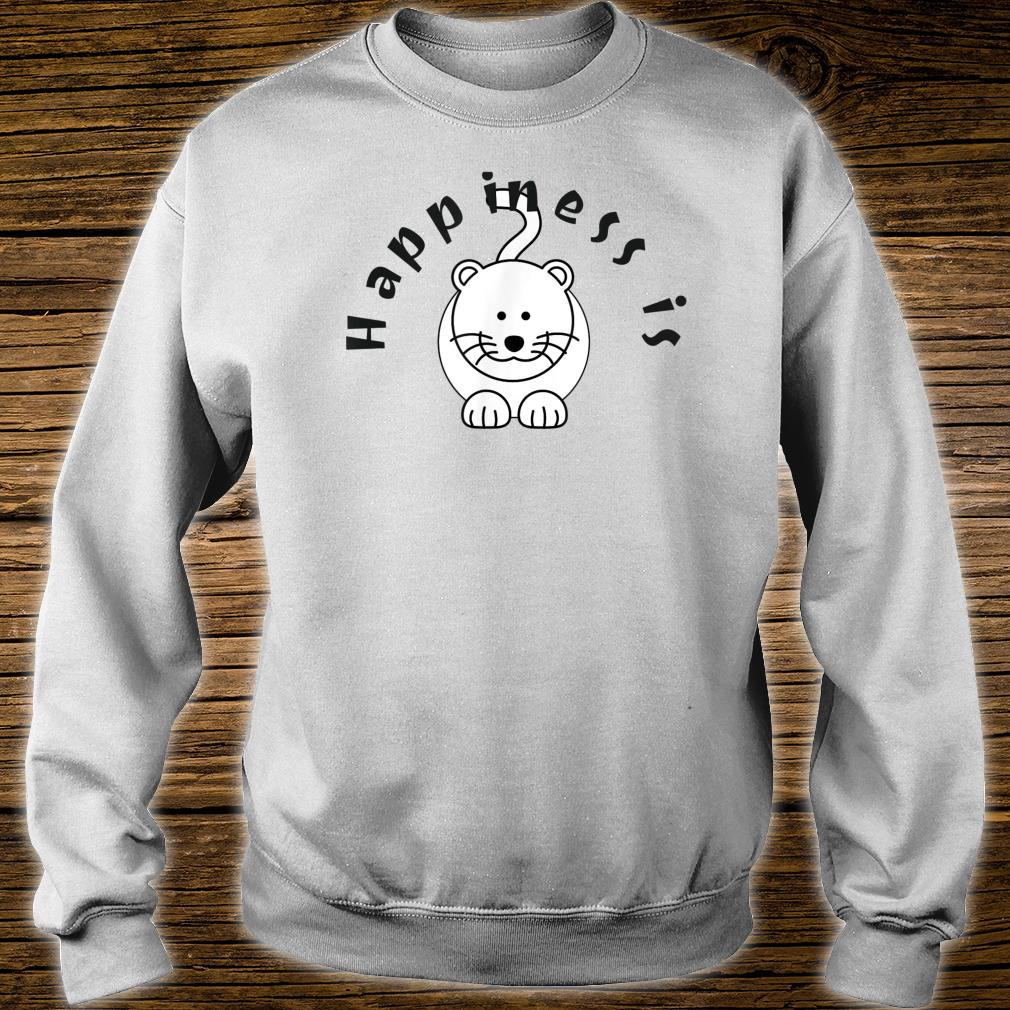 Happiness is a Cat Pet Shirt sweater