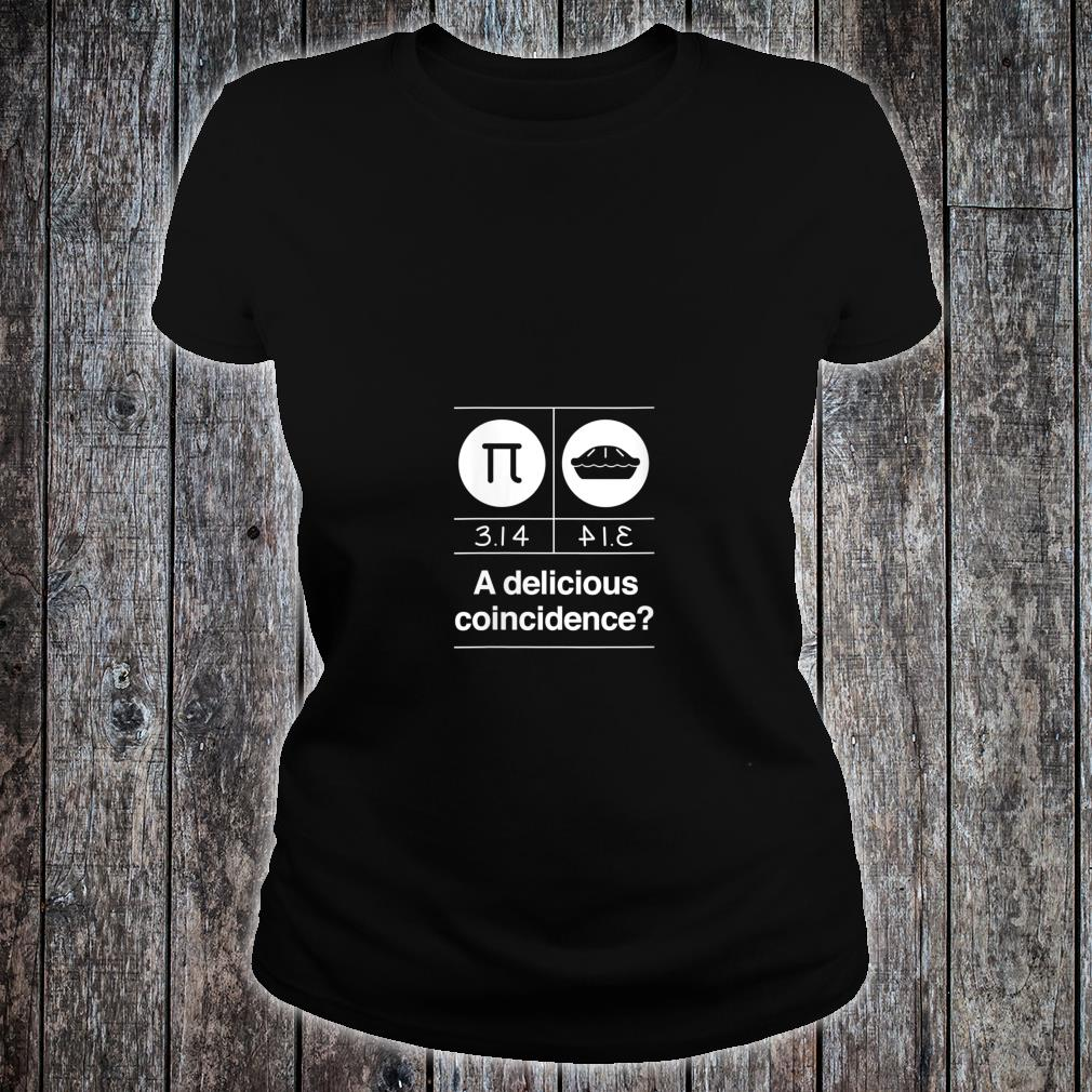Math Teacher Delicious Coincidence Shirt ladies tee