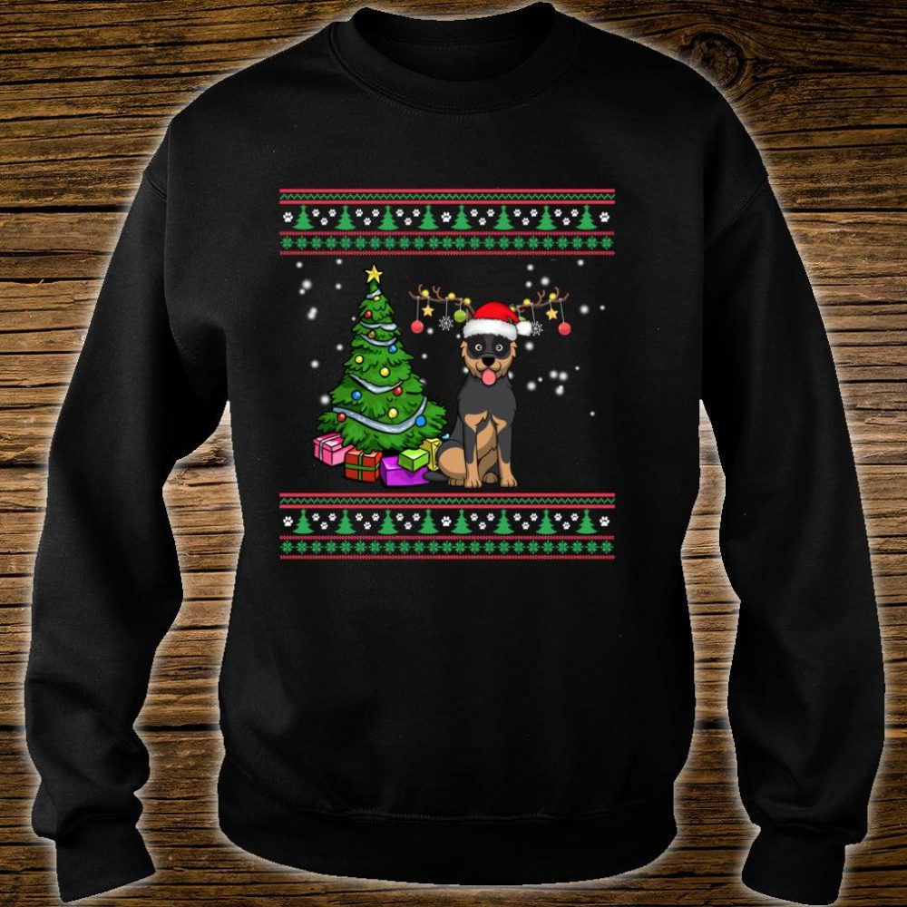 Merry Christmas Australian Cattle Dogs Dog Ugly Shirt sweater