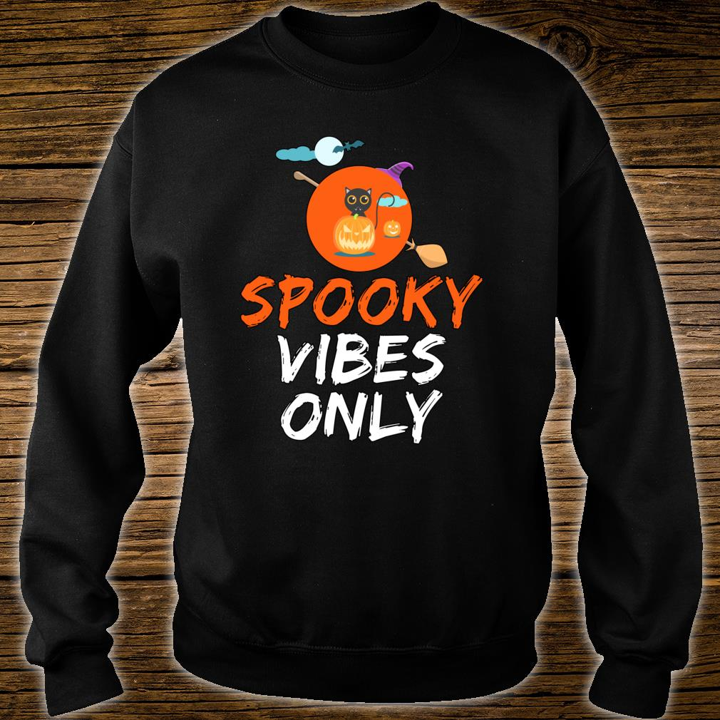 Spooky Vibes Only Funny Halloween Gift Shirt sweater