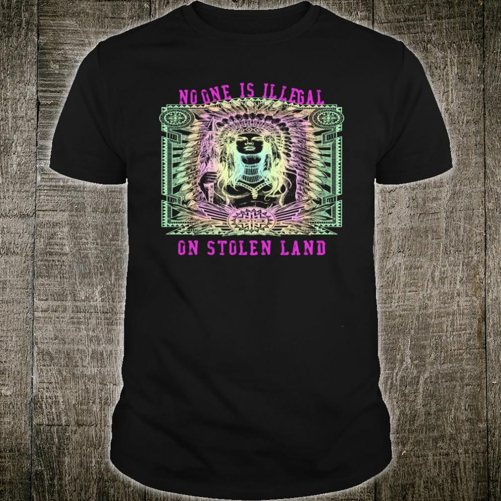 Women's Native American Immigration Trump Protest Shirt