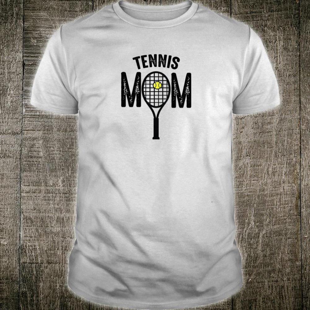 Womens Tennis Mom Cool Fan Greatest Player Love Tennis Cute Shirt